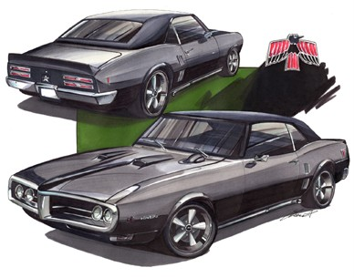 1968-Pontiac-Firebird-T-SHIRT-Muscle-Car-4800