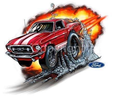 Jim Click Ford >> Cartoon Cars Mustang | www.pixshark.com - Images Galleries With A Bite!