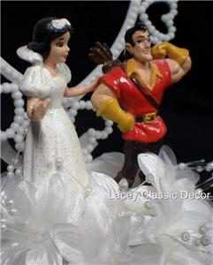 Muscle man wedding