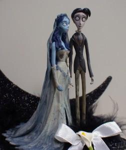 Beautiful Corpse Bride Wedding Cake Topper Ideas - Wedding and ...