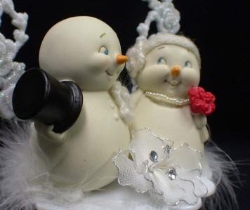 Stunning Snowman Wedding Cake Topper Ideas - Styles & Ideas 2018 ...