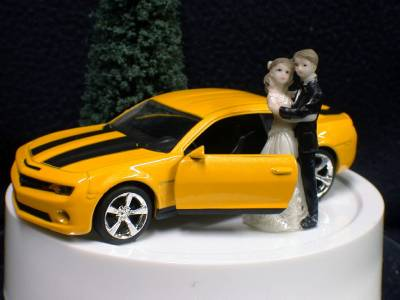 Wedding Cake Toppers  Camaro
