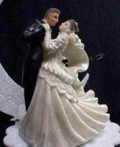 Elvis Presley Wedding Cake Topper