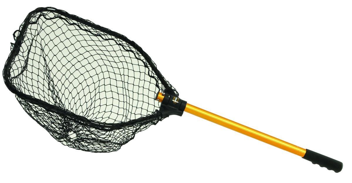 Frabill power stow 8520 landing net 30x32 for Frabill fishing net