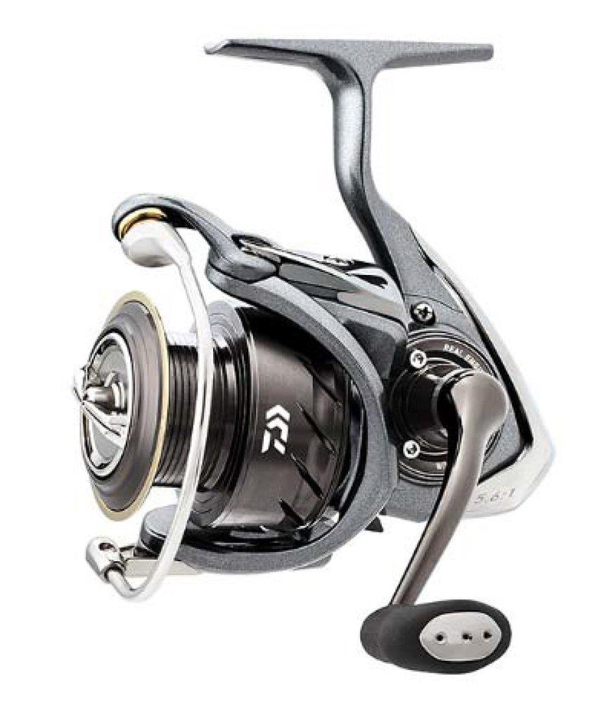 Daiwa luvias 3000h 5 6 1 gear ratio spinning reel ebay for Daiwa fishing reels
