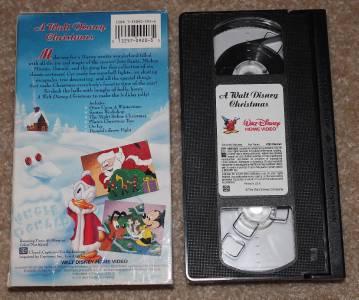 A Disney Christmas Gift Vhs - Christmas Gift Ideas