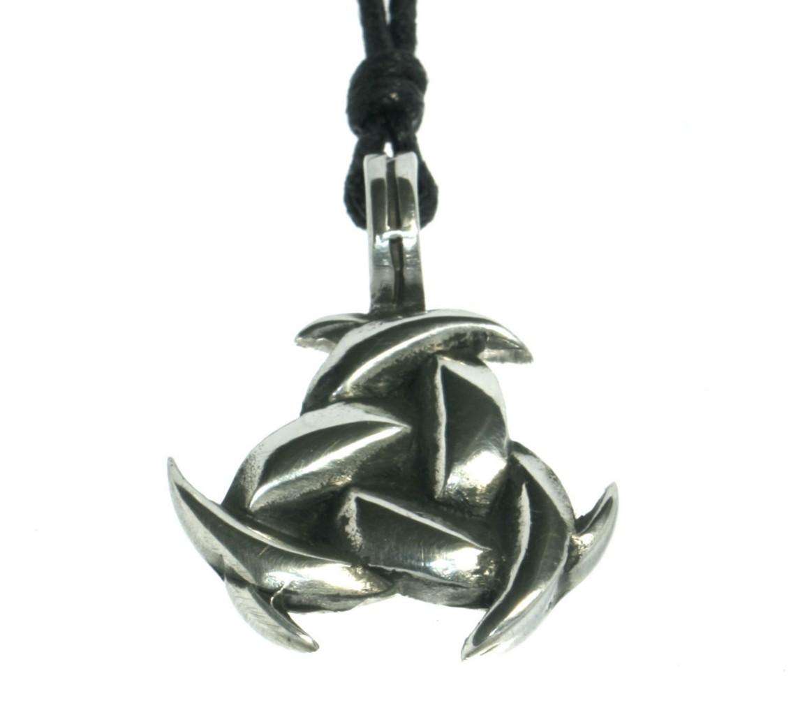 Triple horn of odin knot necklace alpaca silver n2 ebay triple horn of odin knot necklace alpaca silver buycottarizona
