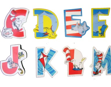 Sweet image pertaining to dr seuss letters printable