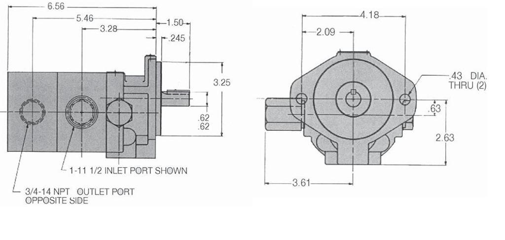 2 Stage Hydraulic Pump Diagram 2 Free Engine Image For