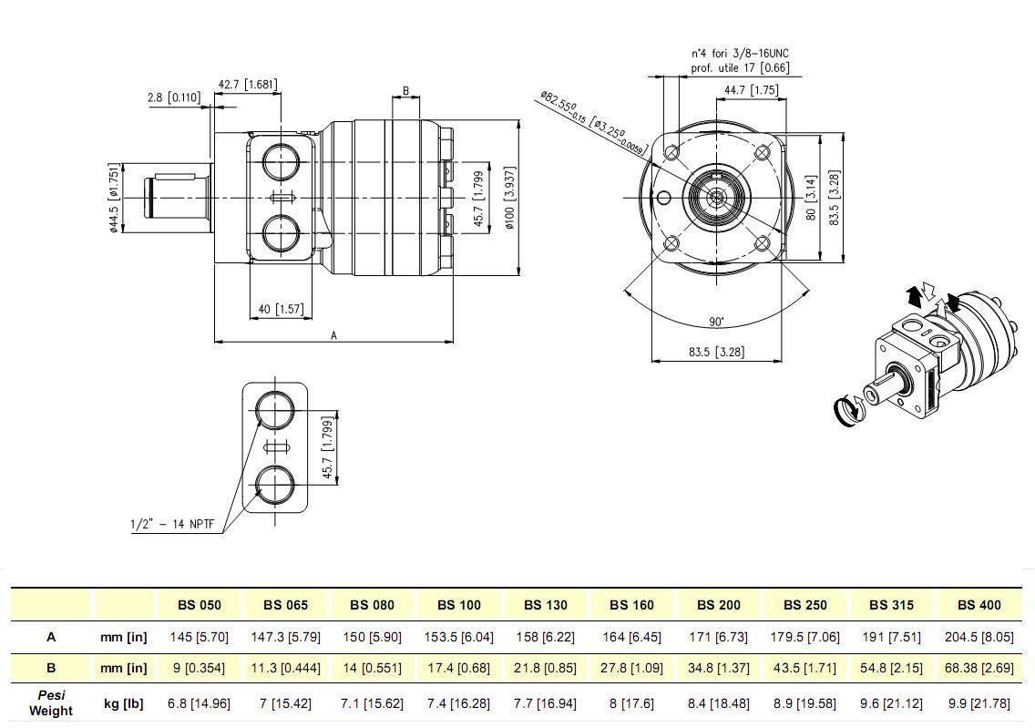 Hydraulic motor fits charlynn 103 1001 103 1573 sauer 151 for White hydraulic motor seal kit