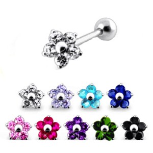 316l surgical steel ear cartilage helix tragus piercing 8 for Helix piercing jewelry canada