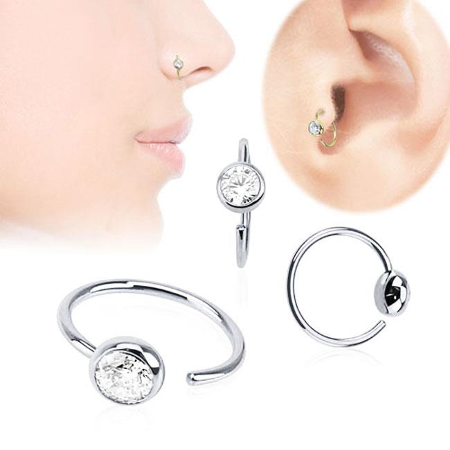 how to clean your nose ring