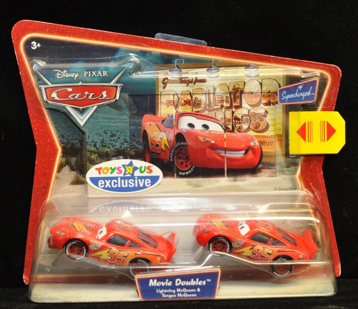 Disney pixar cars toys r us exclusive movie double nip noc for Bureau cars toys r us