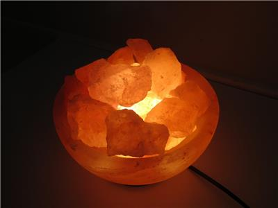 Do Salt Lamps Cause Fires : Himalayan Salt Lamp Fire Bowl Handmade AIR Purifier in VIC eBay