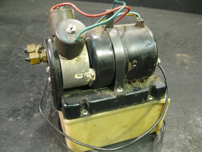 Used bennett trim tab motor hydraulic unit pump system for Outboard motor trim tab