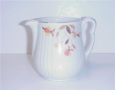 Hall S Superior Jewel Autumn Leaf Rayed Utility Jug