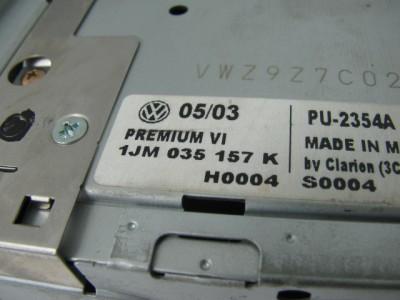 CD Player Radio Double DIN Monsoon VW Jetta GTI Golf Passat 01 05 for