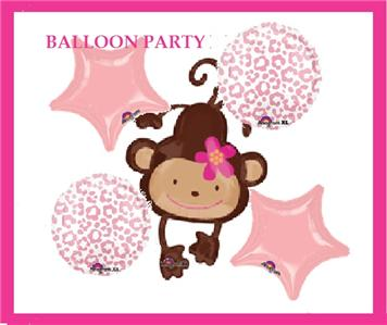 Monkey balloons party favors ideas - Monkey balloons for baby shower ...