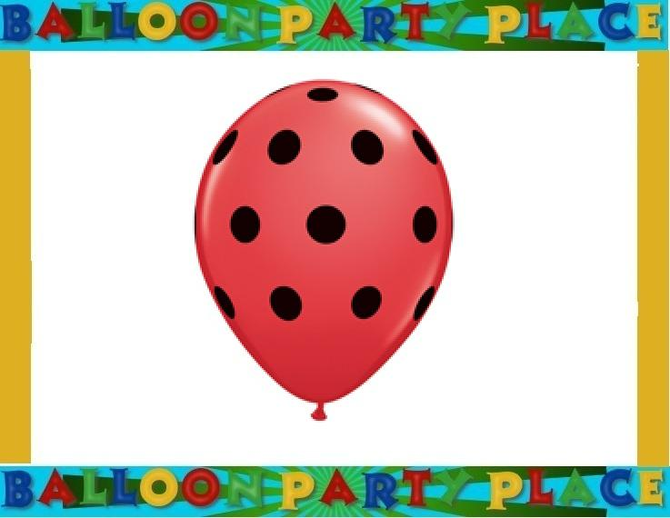 Ladybug Birthday Baby Shower Balloon Party Supplies Pink Lime Polka Dots Choice