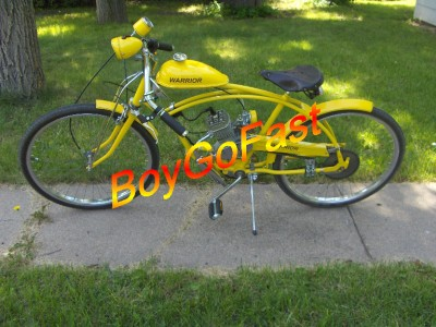 80cc bicycle motor kit motorized gas engine bike regular for Little motors for bicycles