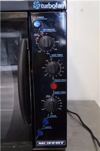 Moffat Countertop Stove : Moffat Turbofan E311 Countertop 1/2 size Electric Convection Oven ...