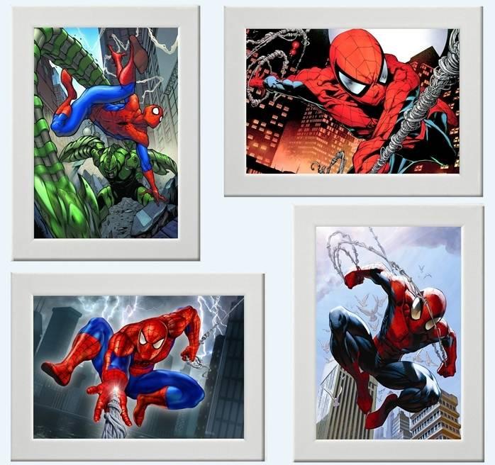 Spiderman marvel comic picture print poster bedroom wall decor gift movie e ebay - Marvel comics decor ...