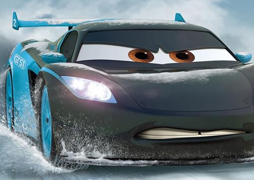 Disney-Cars-Ice-Racer-Poster-Photo-Print-Photo-Wall-Art-Decor-Cadeau-Personnage