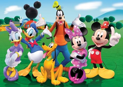 Disney Mickey Mouse Clubhouse Minnie Goofy Poster Picture