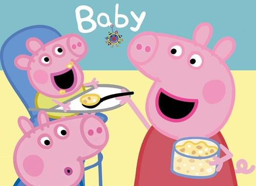 Peppa pig george poster picture photo decor print wall art for George pig bedroom ideas
