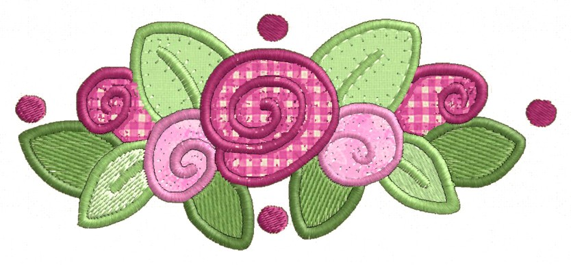 Flower borders applique machine embroidery designs ebay