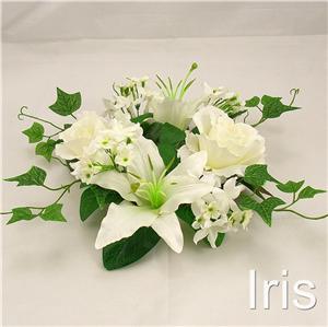 Wholesale 6 ps 25cm wedding silk flower candle ring cr ebay wholesale 6 ps 25cm wedding silk flower candle mightylinksfo