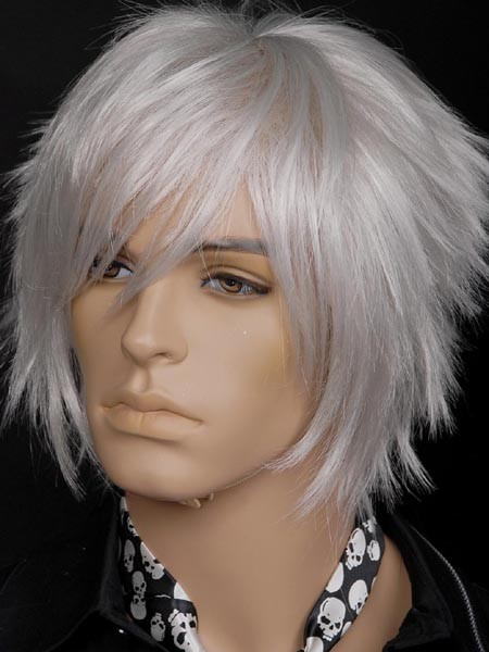 Human Wig Mens Spike 8