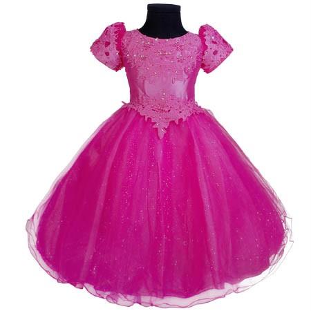 KD160-Blumenmaedchen-Kleid-Festkleid-Rosa