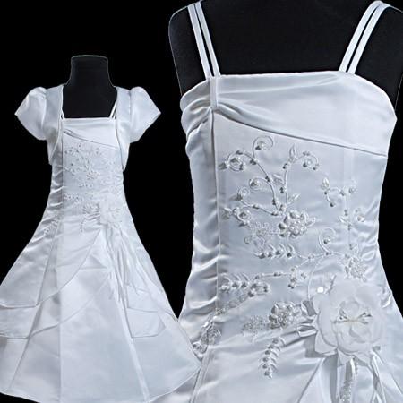 Blanche-filles-robe-ceremonie-mariage-danse-partie-vacances-vetements