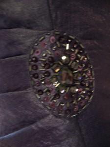 JESSICA HOWARD Purple Shutter Pleat Formal Gown dress & Jacket 16 NWT