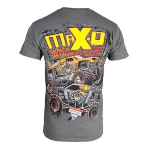 Monster-Jam-Max-D-Maximum-Destruction-10th-Anniversary-T-Shirt-Size-Kids-Medium