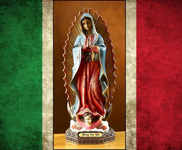 the religious symbol of the virgin of guadalupe Find this pin and more on mama mary by us5mtgirls virgin guadalupe tattoo see more  religious tattoo designs as a symbol of true faith in god - page 22 of 30.