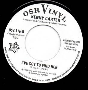 Kenny Carter Nothin Goin On But The Rent Endless Streams