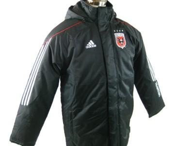 Adidas Dc United Men Xl Stadium Winter Jacket Coat Black