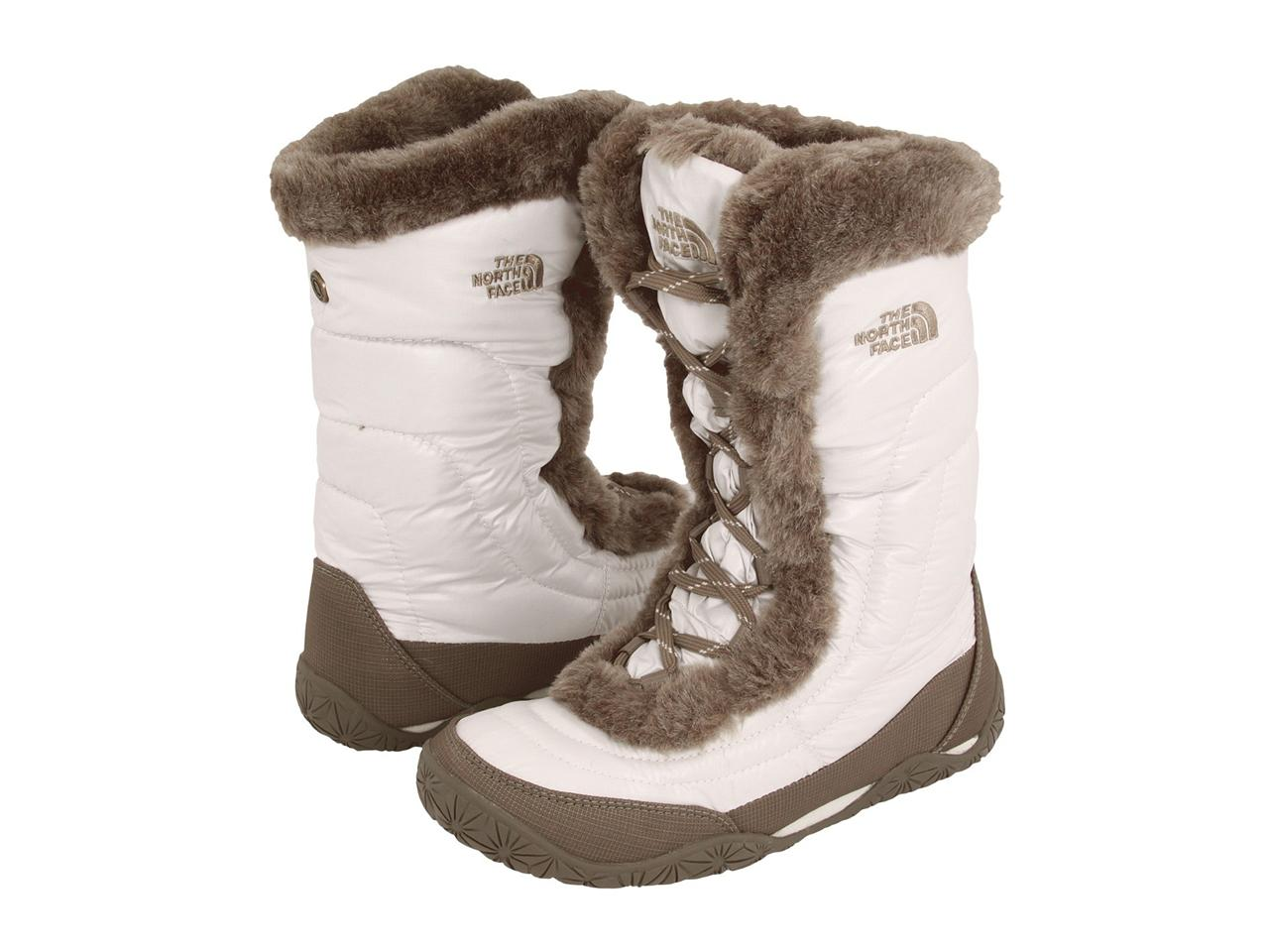 The-North-Face-120-Nuptse-Fur-IV-4-Womens-Boot-Shoe-White-Ivory-Winter-Snow