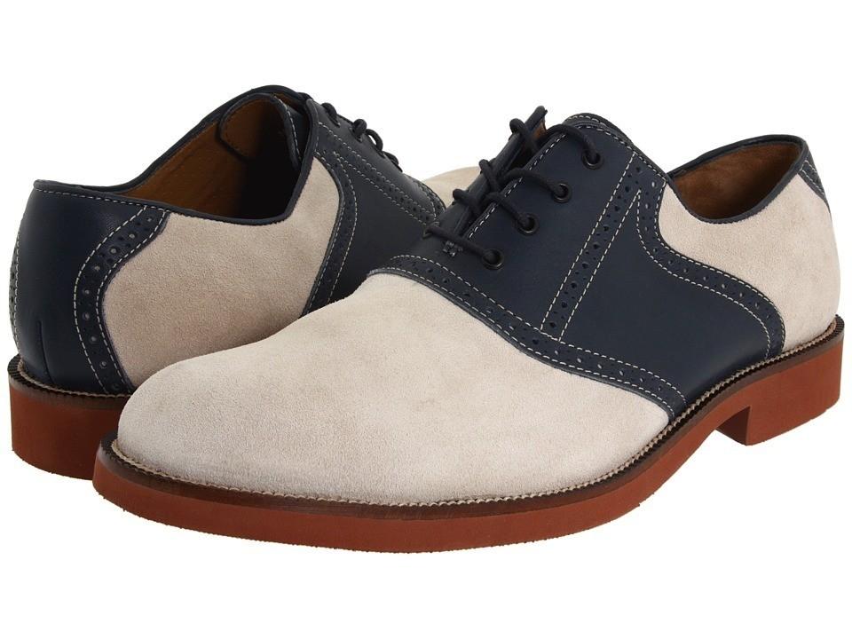 bostonian clarks wallbridge mens saddle shoes oxford white