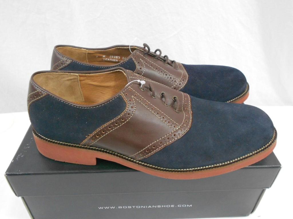 bostonian clarks wallbridge saddle shoe oxford navy