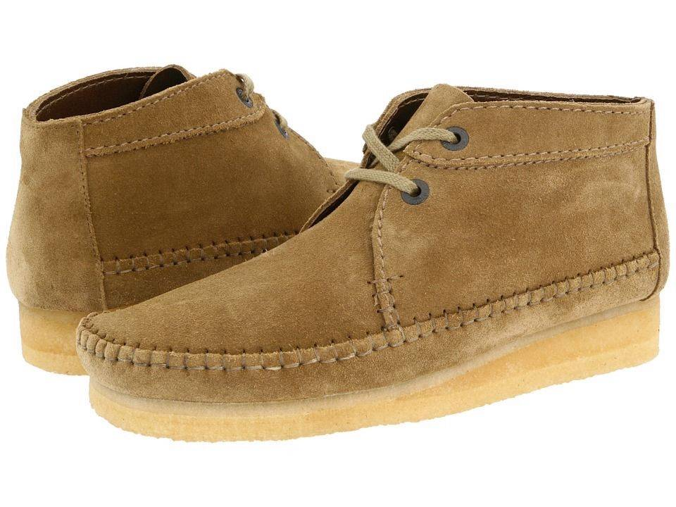 Clarks Original Wallabee Desert Weaver Mens Tan Suede