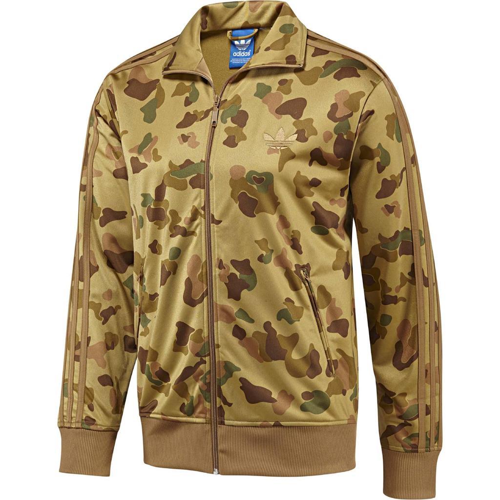 adidas originals adicolor men medium m camo firebird track top jacket camouflage ebay. Black Bedroom Furniture Sets. Home Design Ideas