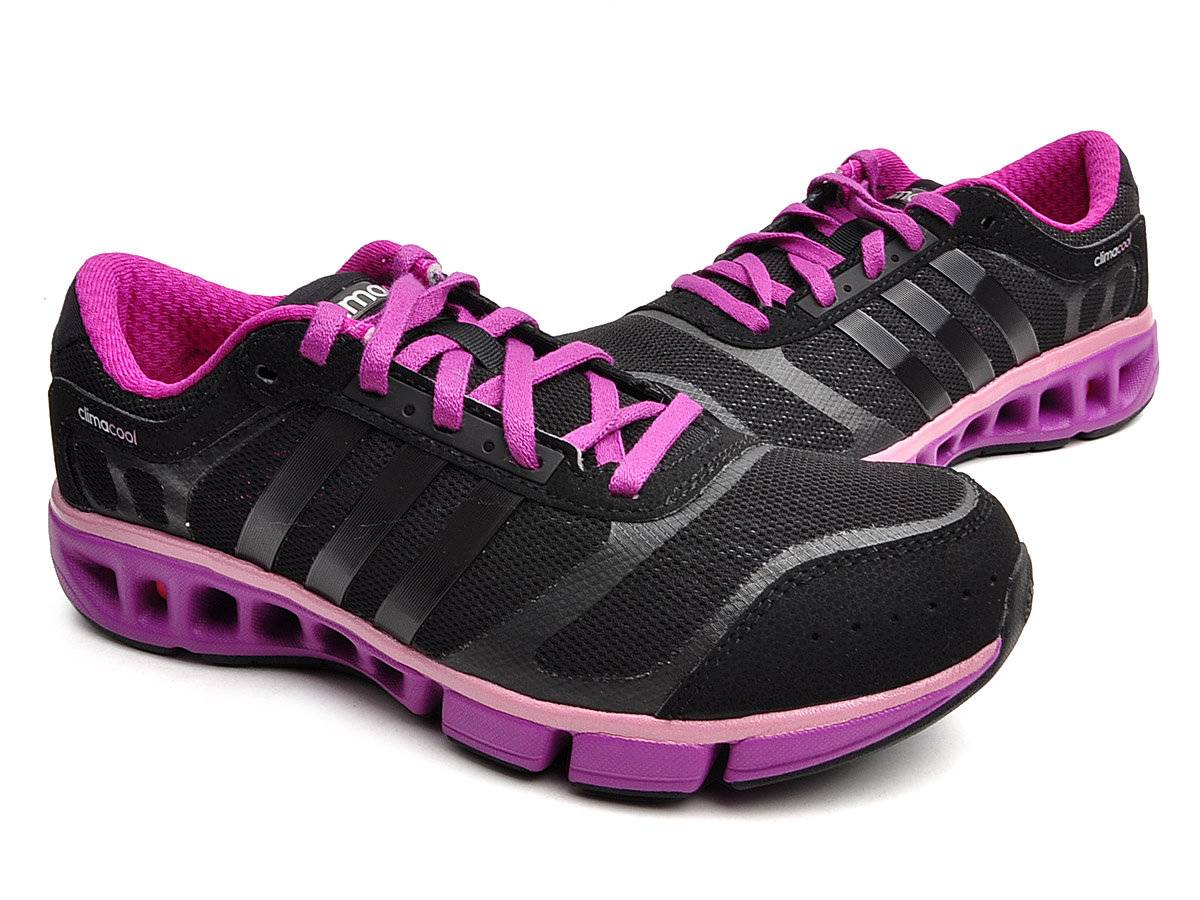 adidas 100 climacool cc ride womens black pink running