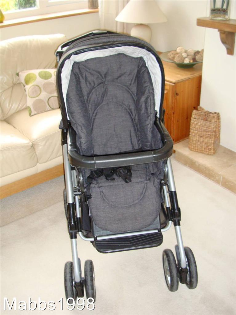 Mamas And Papas Mpx 9 In 1 Travel System Pram Pushchair