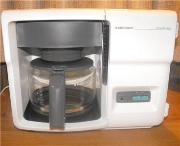 Cabinet Coffee Pot black decker space saver cabinet coffee maker to Fhgproperties.com