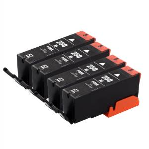 4PK PGI-250 XL Black Ink Cartridges For Canon PIXMA MG5422 ...