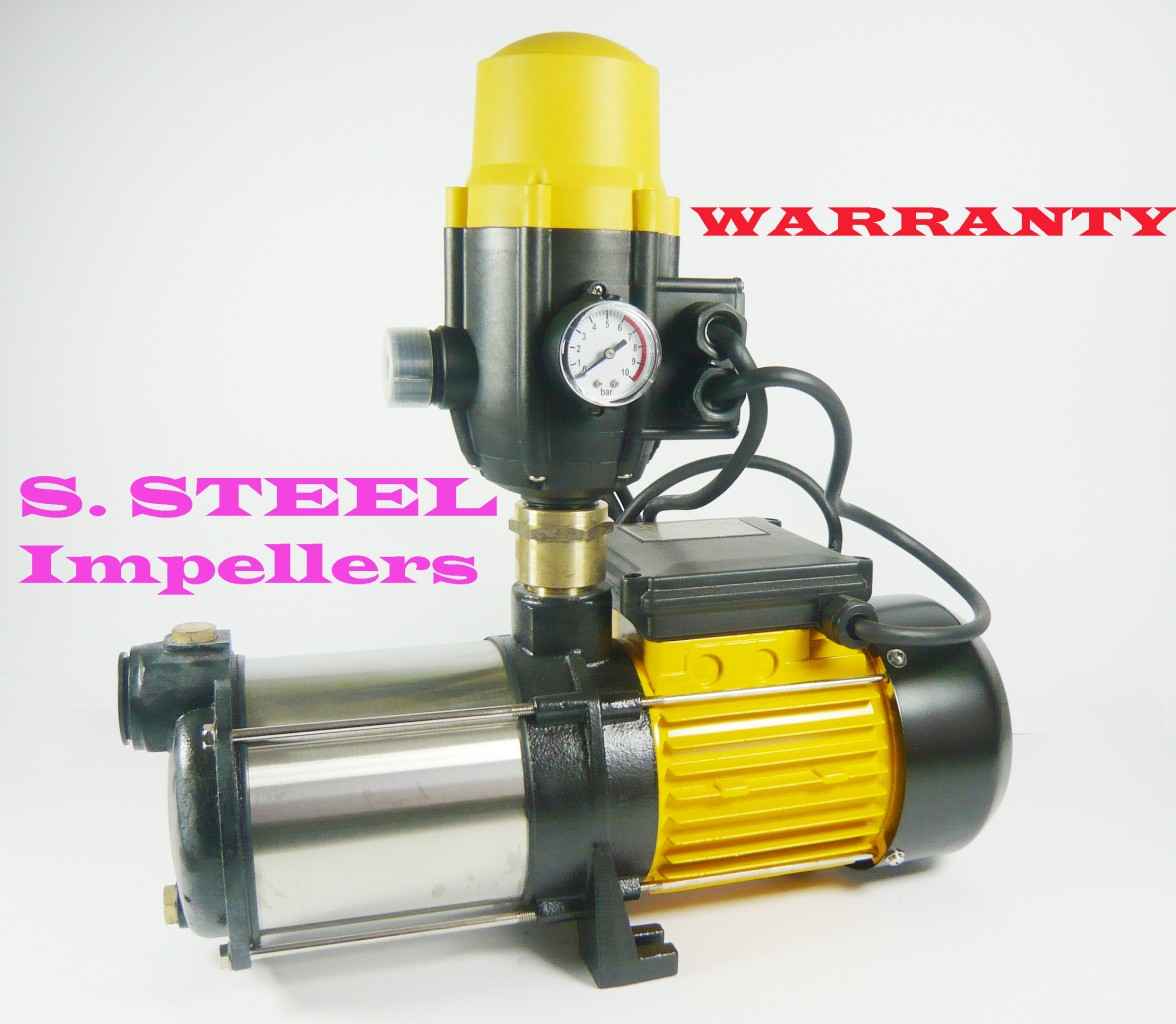 booster pump with pressure tank