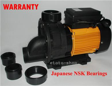 1 5 Hp Heavy Duty Solar Pool Pump Japanese Bearings Ebay